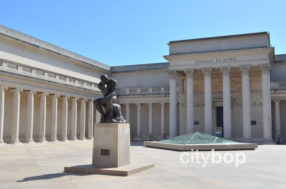 Legion of Honor San Francisco with Rodin Sculpture