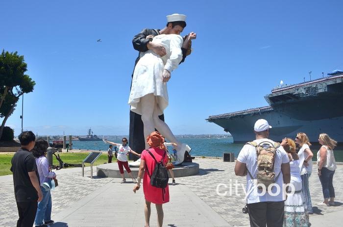 Embracing Peace Statue